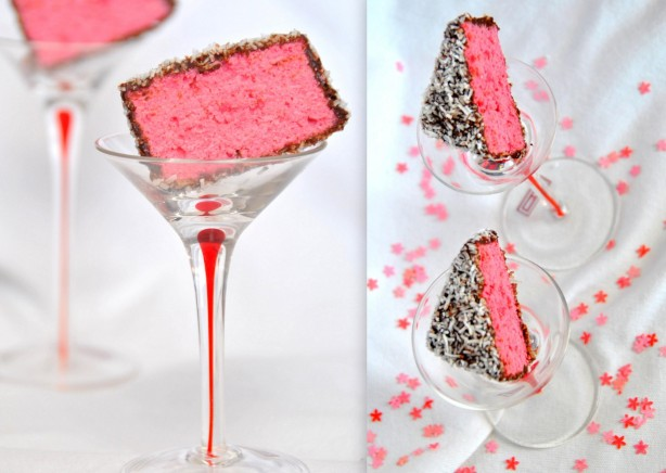 Pink Lamingtons Kitchen Kemistry