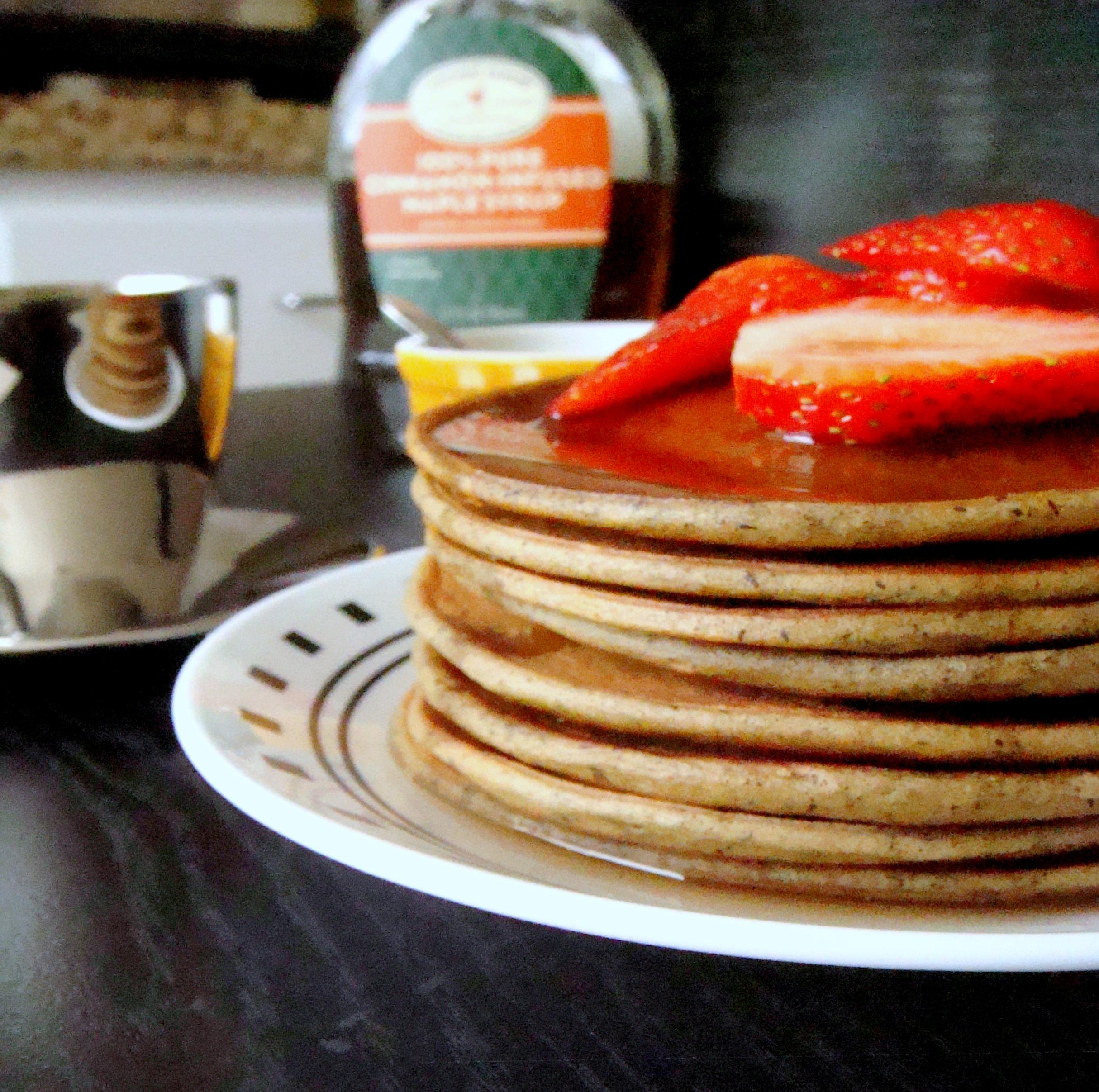 Smitten Kitchen Pancakes: Avocado Buckwheat Pancake