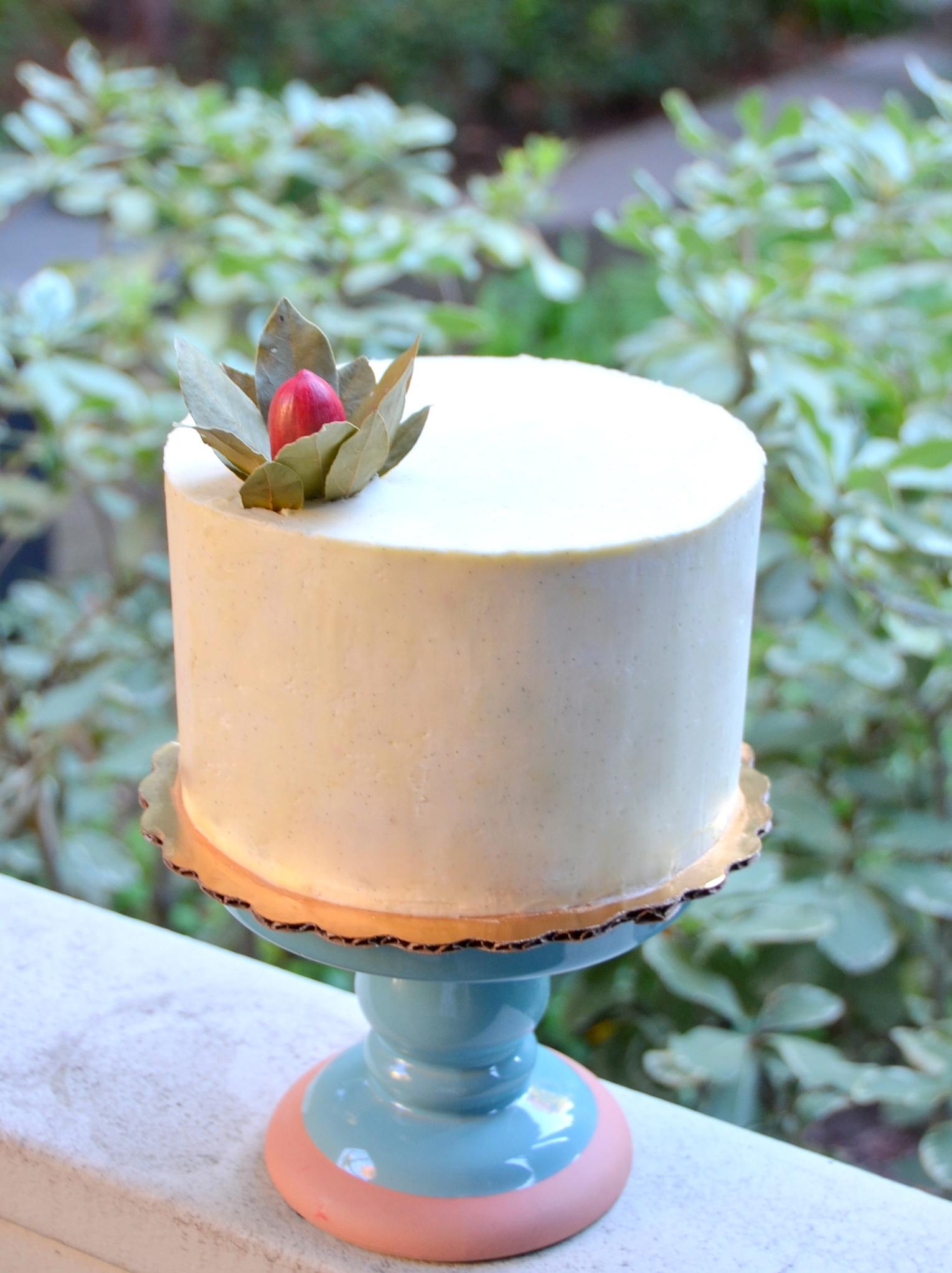 Cream Cheese Chiffon Cake Kitchen Kemistry